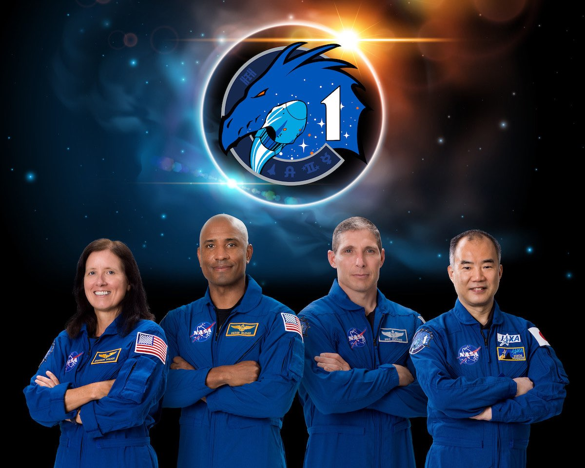 Halloween 2020 Crew Picture First operational Crew Dragon launch slips to Halloween