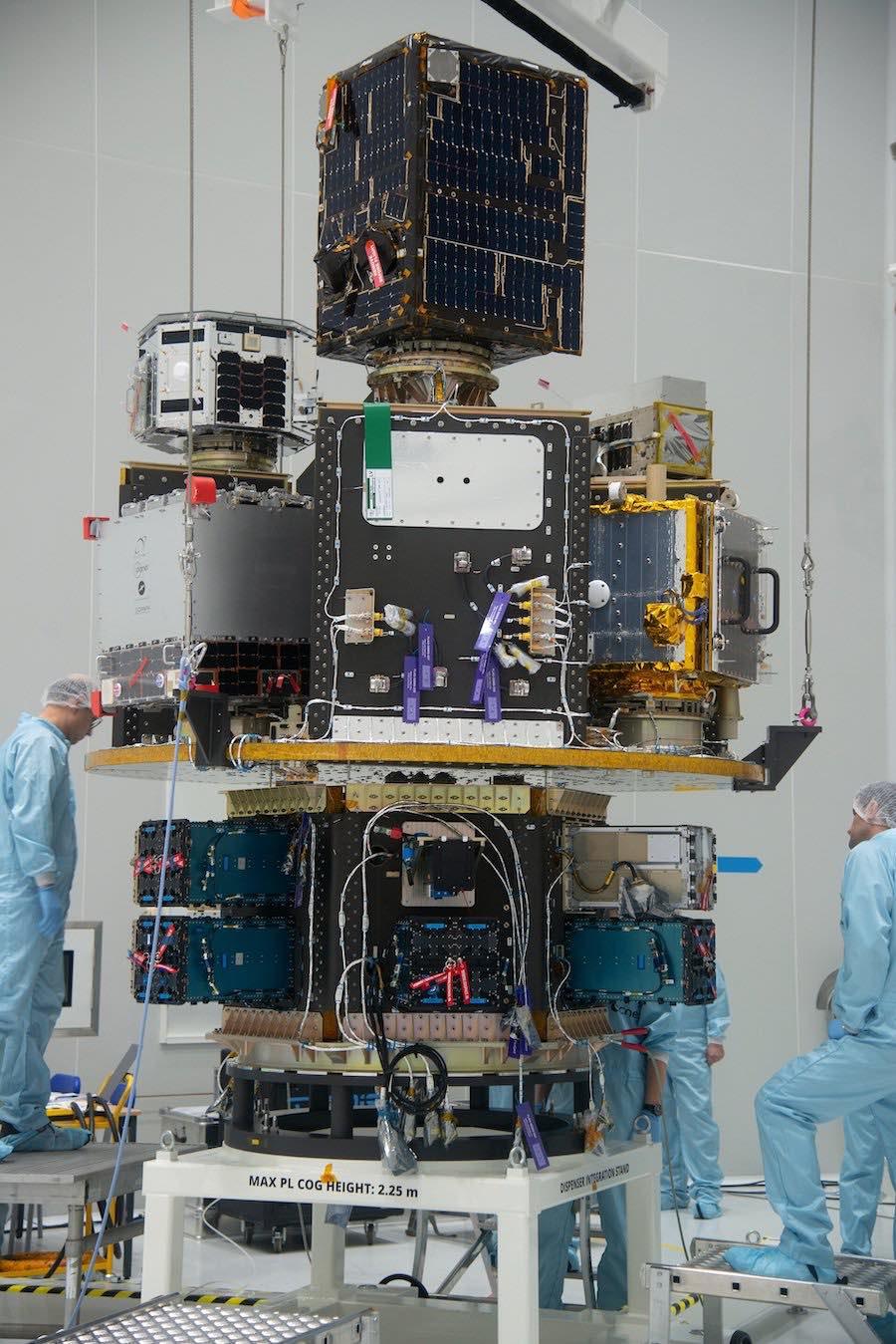 Vega rocket deploys 53 satellites on successful return to flight mission