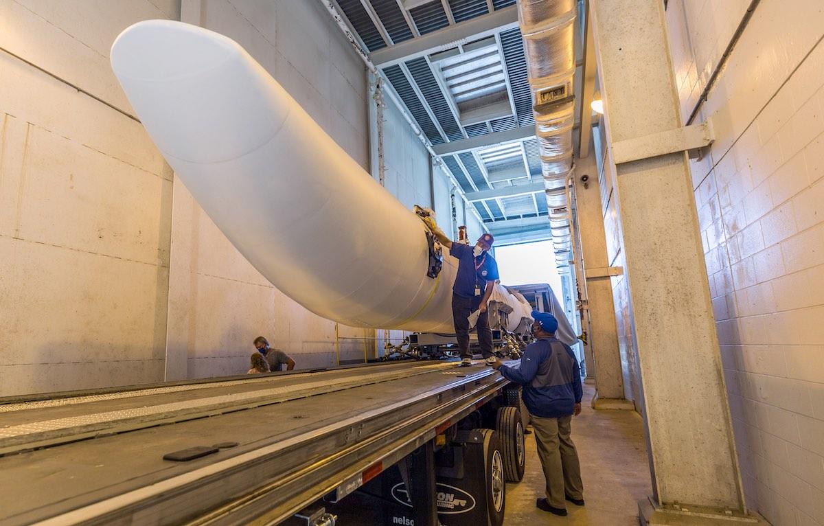 Stacking of next Atlas 5 rocket begins at Cape Canaveral