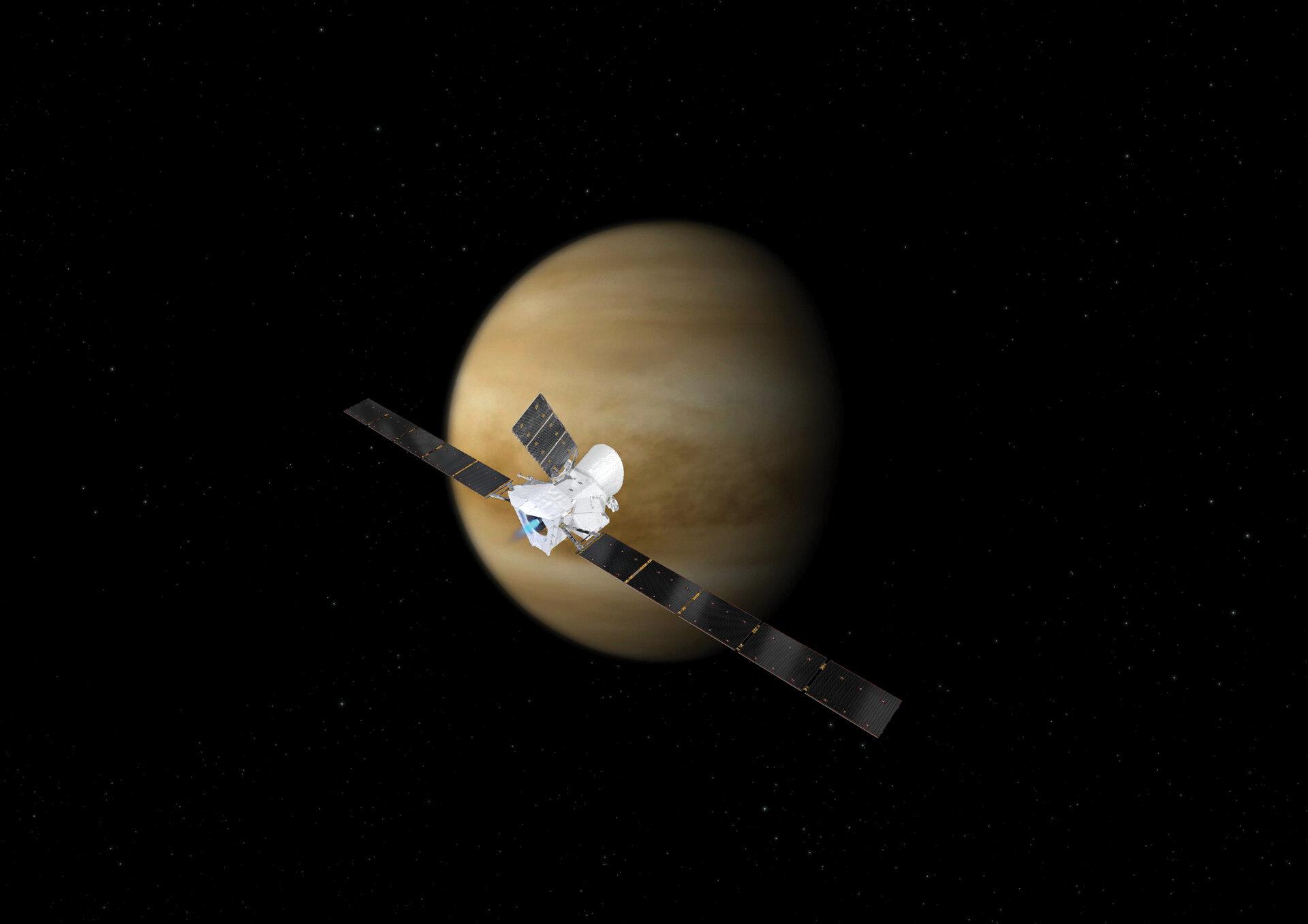 Mercury-bound spacecraft gets an assist from Venus