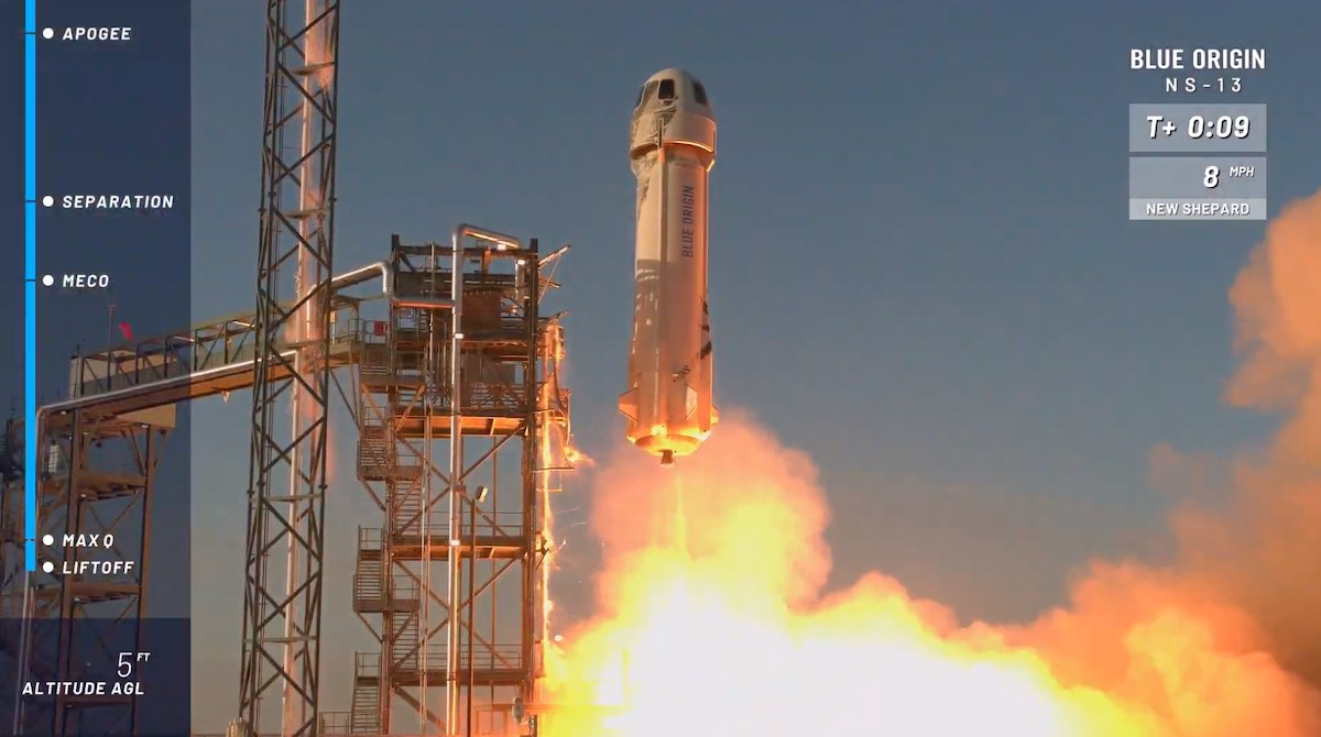 Blue Origin completes successful suborbital space shot – Spaceflight Now