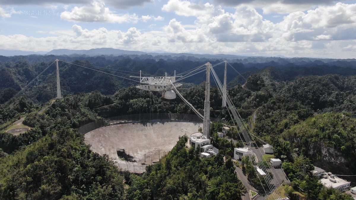 Arecibo Observatory faces demolition after cable failures