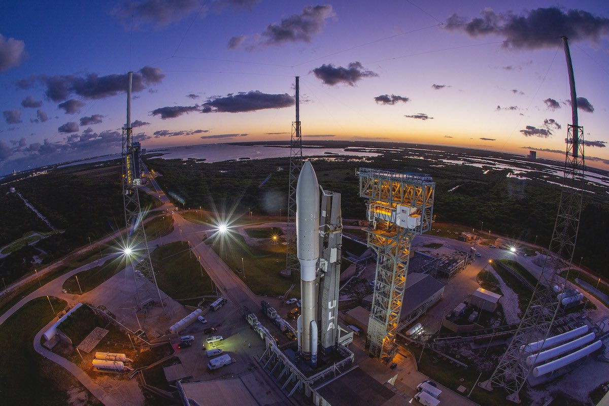 ULA scrubs Atlas 5 launch as SpaceX readies repaired rocket for GPS mission