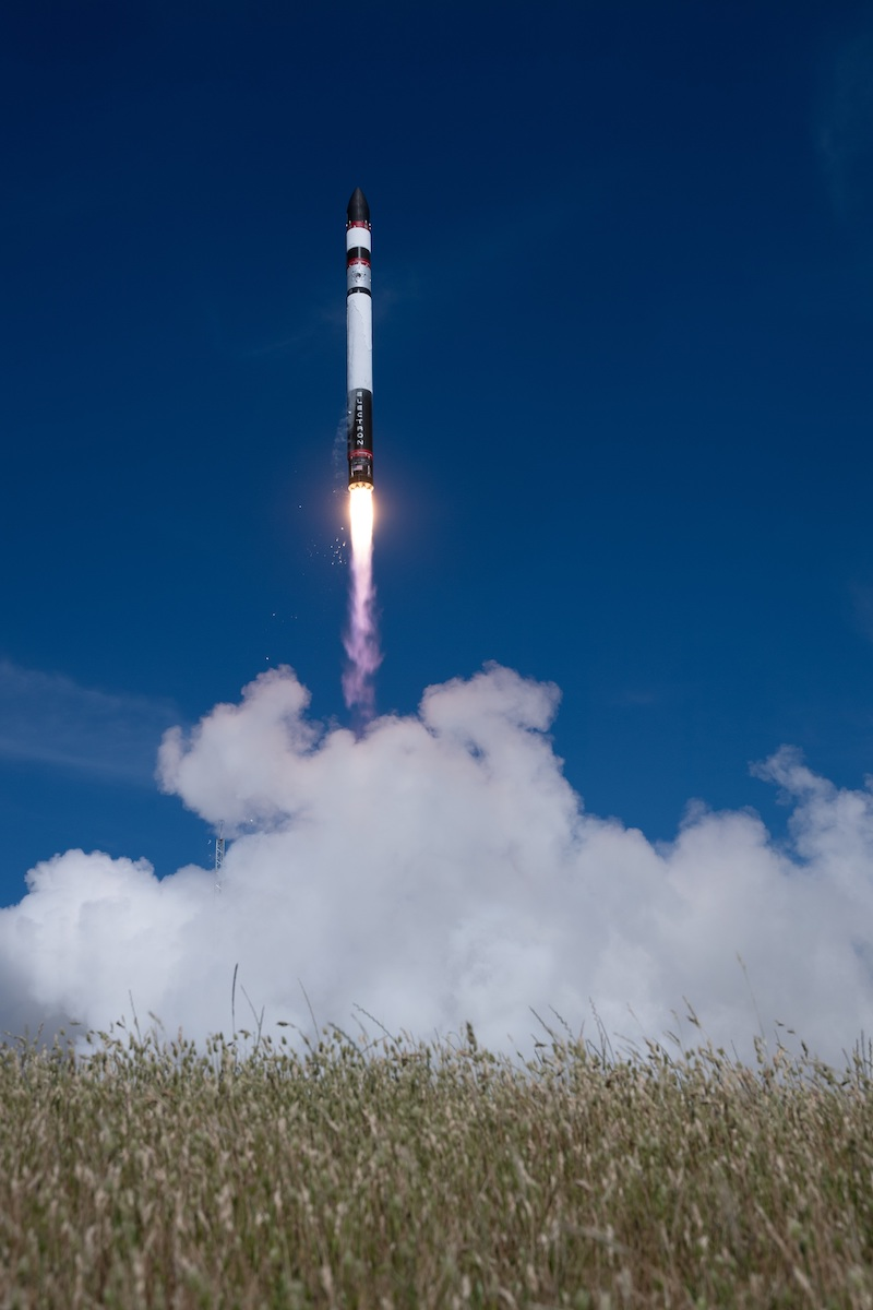 Rocket Lab recovers booster after launch with 30 small satellites