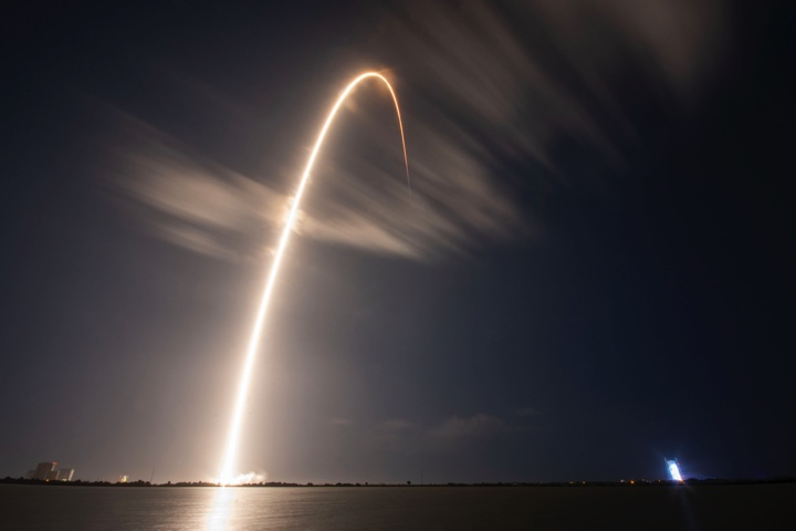 Spacex Launches Gps Navigation Satellite From Cape Canaveral Spaceflight Now