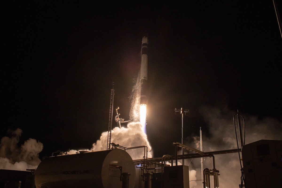 Rocket Lab closes out year with launch of Synspective's first radar satellite