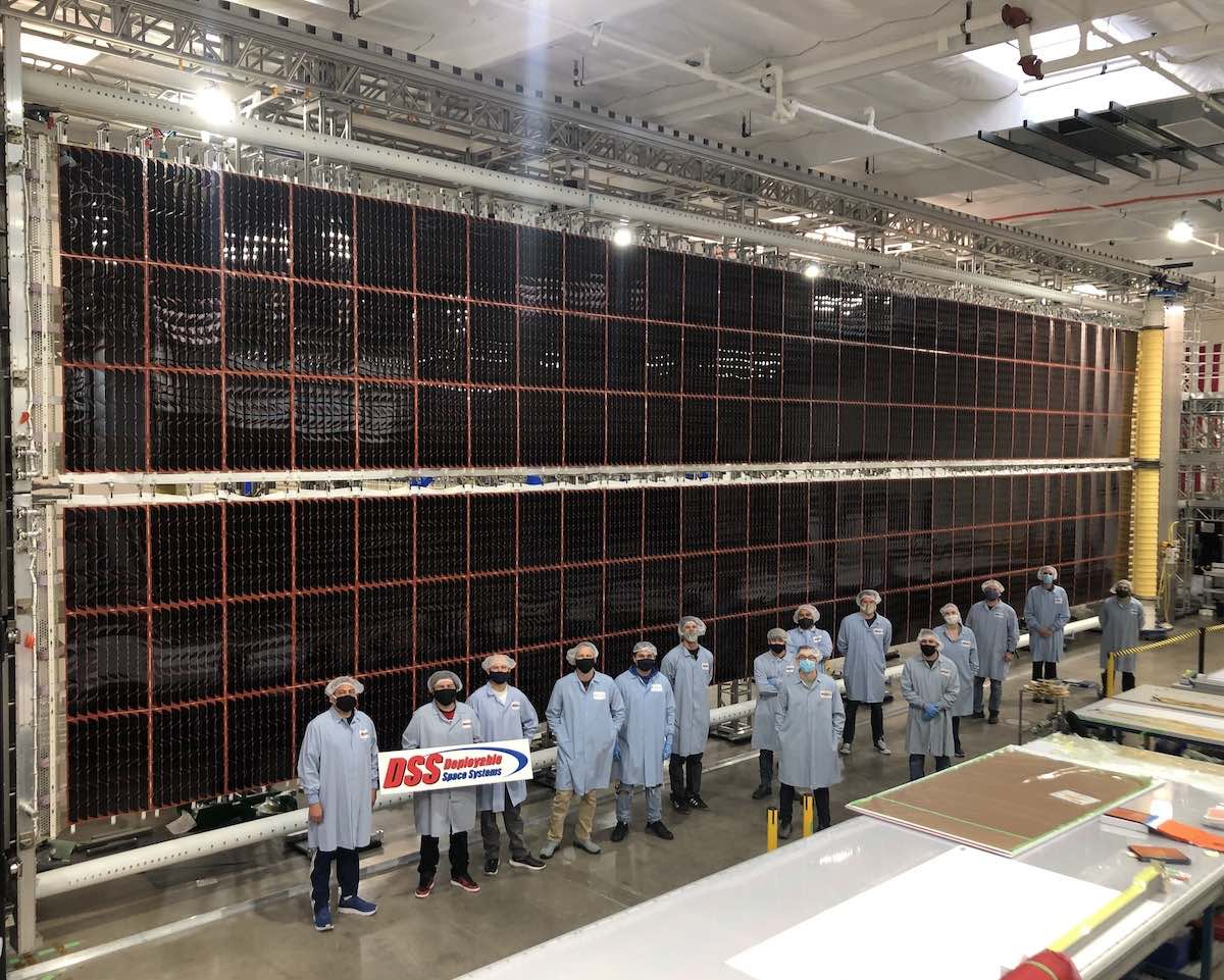 - irosa wing 1 assembly - Boeing says assembly complete on first set of new space station solar arrays – Spaceflight Now