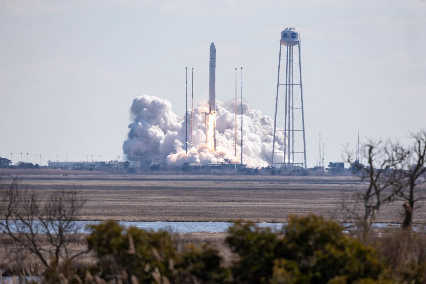 - 50962425428 6de95aaeb6 k - Antares rocket launches heavy cargo load to International Space Station – Spaceflight Now
