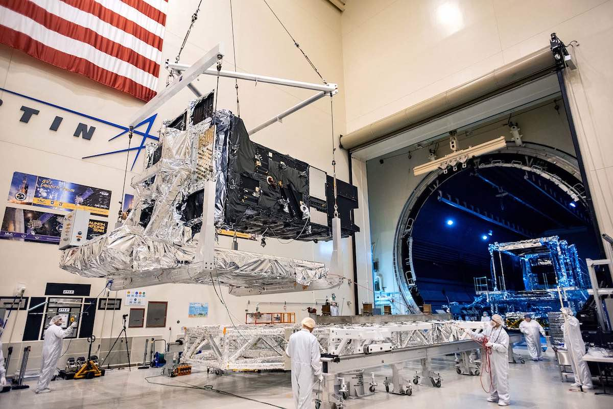 - sbirsgeo5 - U.S. Space Force's next missile warning satellite arrives at Florida launch base – Spaceflight Now
