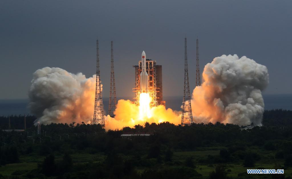 - lm5b 21 - Assembly of Chinese space station begins with successful core module launch – Spaceflight Now