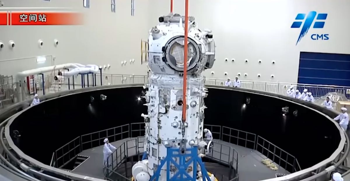 - tianhe1 - First element of Chinese space station ready for liftoff – Spaceflight Now