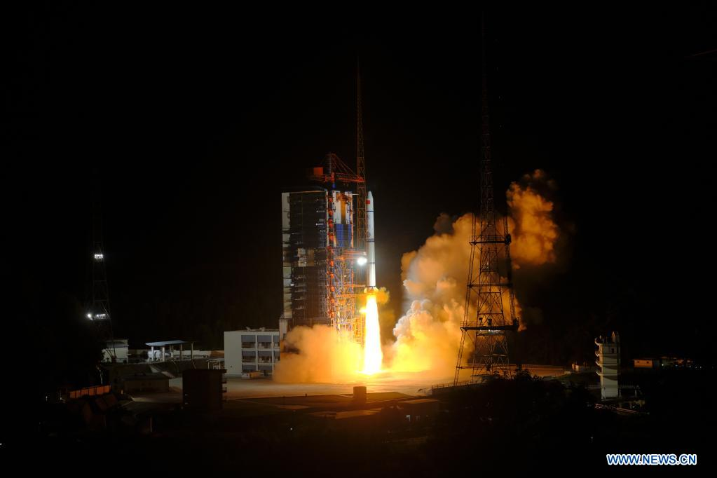China launches four satellites on Long March 2C rocket
