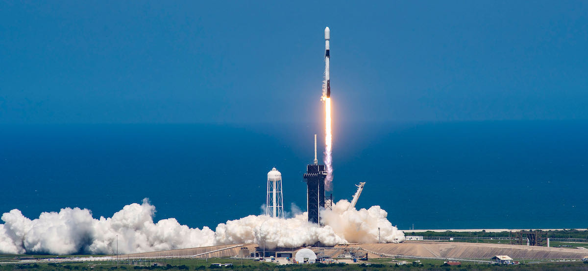 Starlink launch marks 100 missions since an in-flight Falcon rocket failure