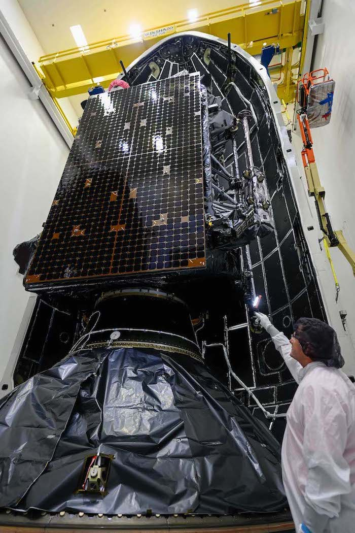 - GPS III SV05 Encap 11 - U.S. Space Force clears reused SpaceX rocket for launch with GPS satellite – Spaceflight Now