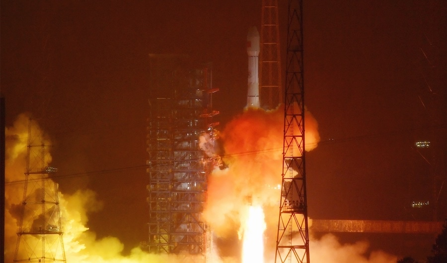 - tianlian lm3c - China launches satellite to link mission control with space station – Spaceflight Now