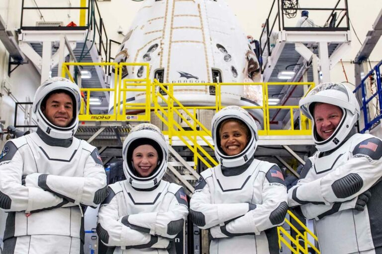 Crew completes spaceship fit take a look at prior to all