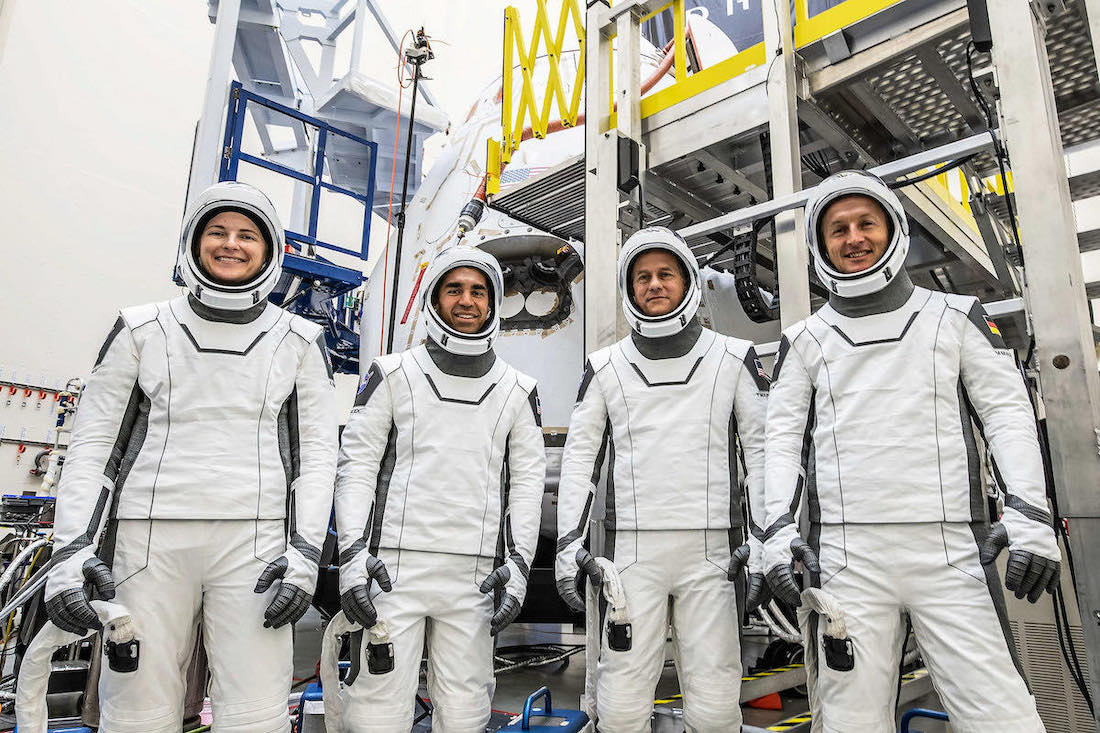 Astronauts in final training for flight on brand new SpaceX crew capsule