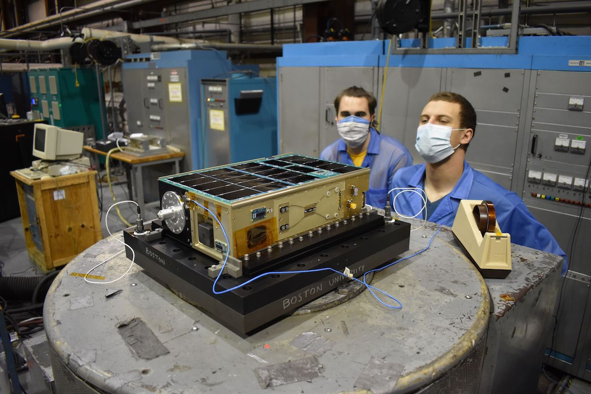 Secondary payloads launched with Landsat start commissioning thumbnail